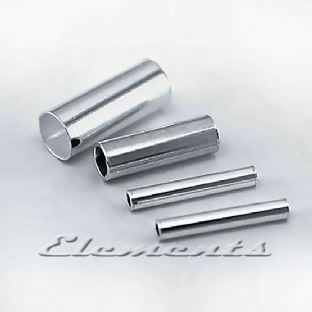 Sterling Silver Plain Round Tube Beads Spacers
